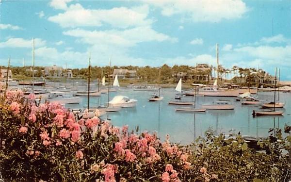 One of the Many Beautiful Harbors Harwichport, Massachusetts Postcard
