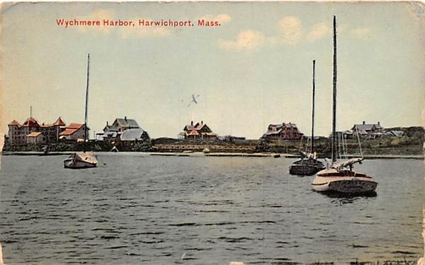Wychmere Harbor Harwichport, Massachusetts Postcard