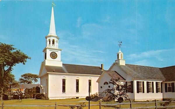 Pilgrim Congregational Church Harwichport, Massachusetts Postcard