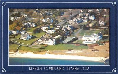 Kennedy Compound Hyannis Port, Massachusetts Postcard
