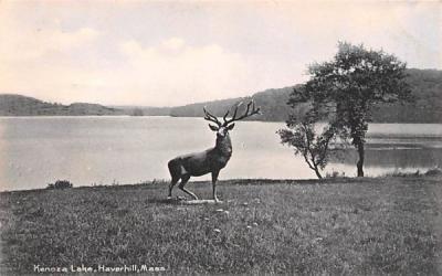 Kenoza Lake Haverhill, Massachusetts Postcard
