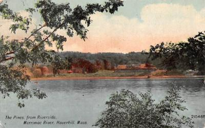The Pines Haverhill, Massachusetts Postcard