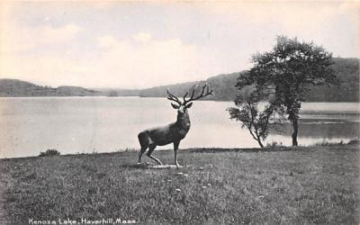 Kenoza Lake Haverhill, Massachusetts Postcard
