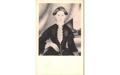 A lady of Sturbridge, Mass. Harvard, Massachusetts Postcard