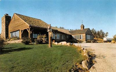 The Log Cabin Holyoke, Massachusetts Postcard
