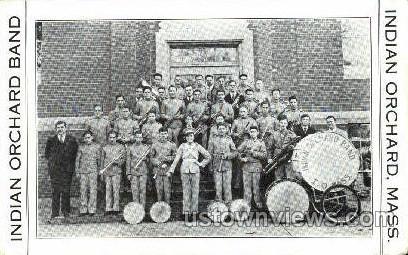 Indian Orchard Band - Massachusetts MA Postcard
