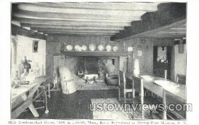 Olde Burnham Hart House - Ipswich, Massachusetts MA Postcard