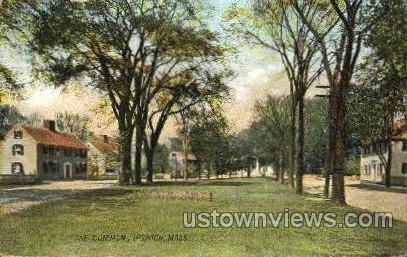The Common - Ipswich, Massachusetts MA Postcard
