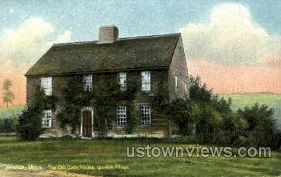 The Old Cate House - Ipswich, Massachusetts MA Postcard