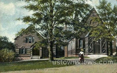 Church of the Ascension - Ipswich, Massachusetts MA Postcard