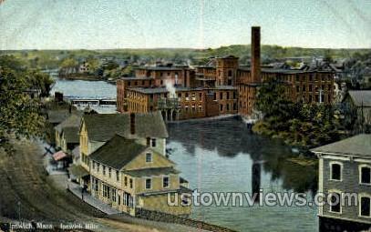 Ipswich Mills - Massachusetts MA Postcard