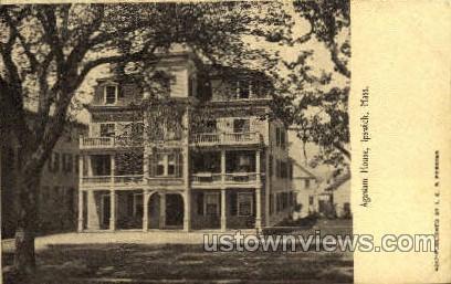 Agawam House - Ipswich, Massachusetts MA Postcard