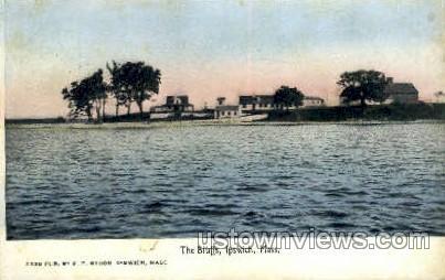 The Bluffs - Ipswich, Massachusetts MA Postcard