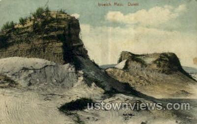 Dunes - Ipswich, Massachusetts MA Postcard