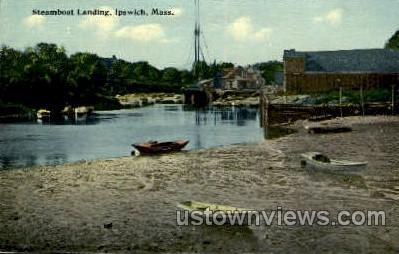 Steamboat Landing - Ipswich, Massachusetts MA Postcard