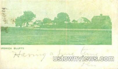 Ipswich Bluff - Massachusetts MA Postcard