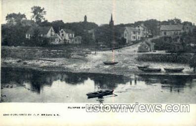 Lower River - Ipswich, Massachusetts MA Postcard