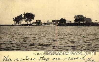 The Bluff, Plum Island - Ipswich, Massachusetts MA Postcard