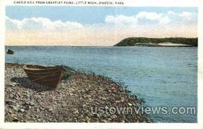 Castle Hill, Graveley Point, Little Neck - Ipswich, Massachusetts MA Postcard