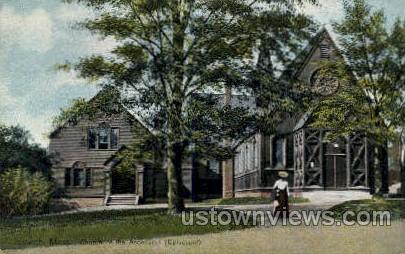 Church of the Ascension Episcopal - Ipswich, Massachusetts MA Postcard