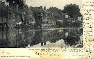 Little Venice - Ipswich, Massachusetts MA Postcard