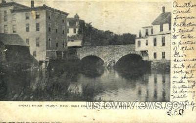 Choate Bridge - Ipswich, Massachusetts MA Postcard