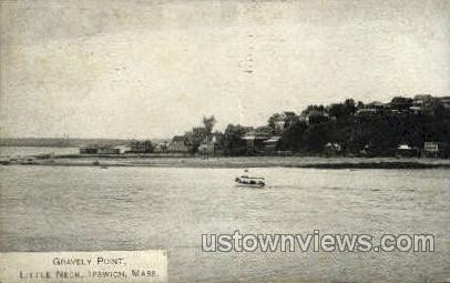 Gravely Point, Little Neck - Ipswich, Massachusetts MA Postcard