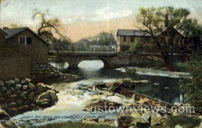 County Road Bridge - Ipswich, Massachusetts MA Postcard