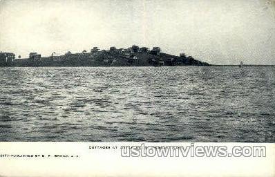 Cottages, Little Neck - Ipswich, Massachusetts MA Postcard