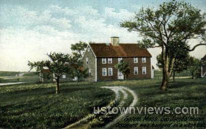 Geo. Jacob's House - Salem, Massachusetts MA Postcard