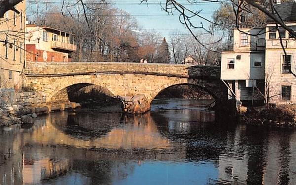 Choate Bridge Ipswich, Massachusetts Postcard