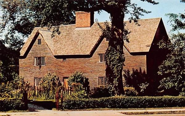 The Whipple House Ipswich, Massachusetts Postcard