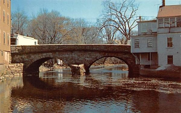The Choate Bridge Ipswich, Massachusetts Postcard
