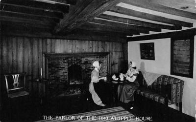 The Parlor Ipswich, Massachusetts Postcard