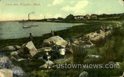 Kingston, Massachusetts, MA Postcard