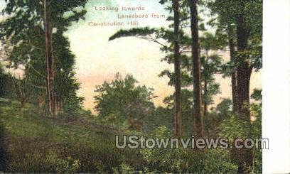 Lanesboro, Massachusetts, MA Postcard