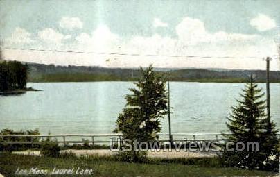 Laurel Lake - Lee, Massachusetts MA Postcard