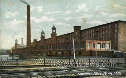 Pacific Mills - Lawrence, Massachusetts MA Postcard
