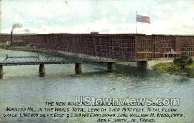 New Wood Mill - Lawrence, Massachusetts MA Postcard