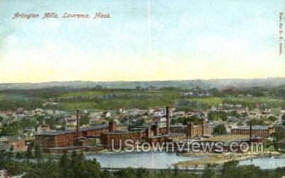 Arlington Mills - Lawrence, Massachusetts MA Postcard
