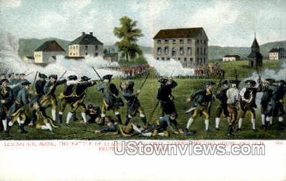 Buckman Tavern Meeting House - Lexington, Massachusetts MA Postcard