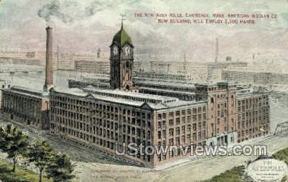 New Ayer Mills - Lawrence, Massachusetts MA Postcard
