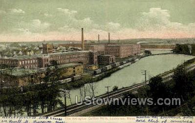 Arlington Cotton Mills - Lawrence, Massachusetts MA Postcard