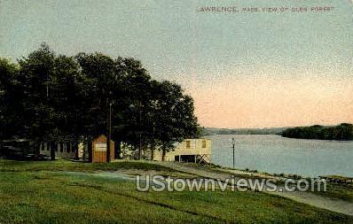 Glen Forest - Lawrence, Massachusetts MA Postcard