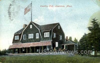 Country Club - Lawrence, Massachusetts MA Postcard