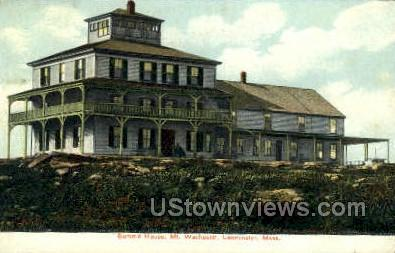 Summit House, Mt. Achiest - Leominster, Massachusetts MA Postcard