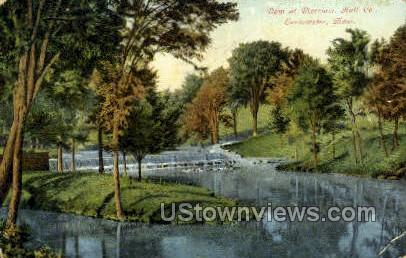 Dam at Merriam, Hall Co - Leominster, Massachusetts MA Postcard