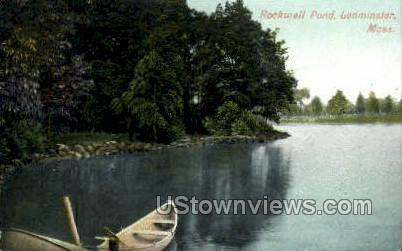 Rockwell Pond - Leominster, Massachusetts MA Postcard