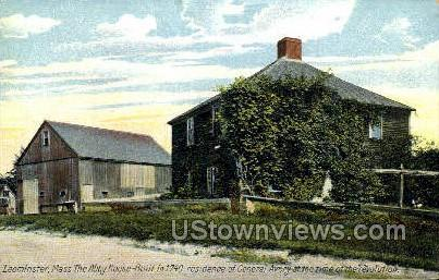 Abby House, 1740, Residence of Gen Avery - Leominster, Massachusetts MA Postcard