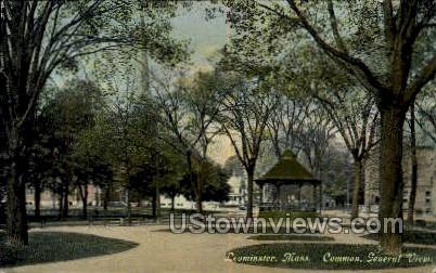 Common - Leominster, Massachusetts MA Postcard